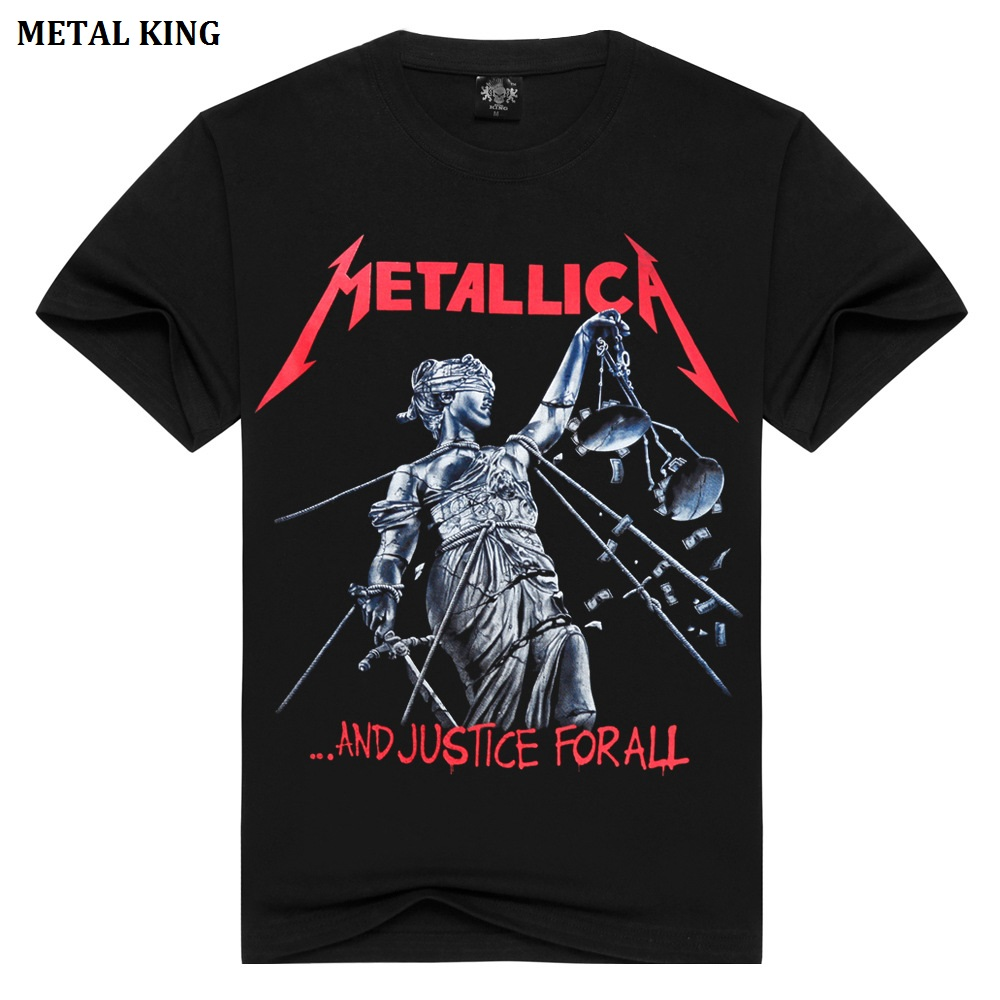 Rock Clásica Metallica Punk King Música Metal Mujer Camiseta Camisas n6FwvPZq
