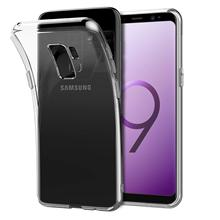 samsung galaxy s9 s8 s7 s6 TPU Silicone Durable Clear Soft Case