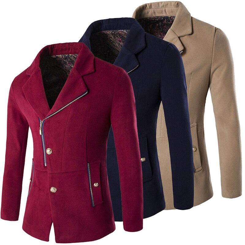 Online Buy Wholesale zipper pea coat from China zipper pea coat ...