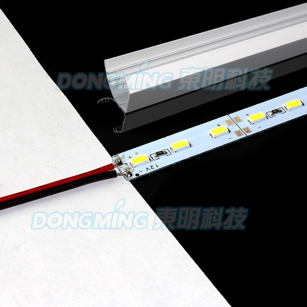 Led Bar Lights Capable 10pcs/lot 50cm Dc12v 36leds Led Hard Strip 5630 Led Strip Bar Light With Aluminium V Shell Kitchen Led Under Cabinet Light Led Lighting