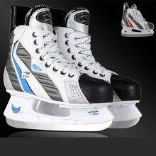 Хоккею действий хоккей взрослый коньки настоящее по нож профессиональный ребенок обувь