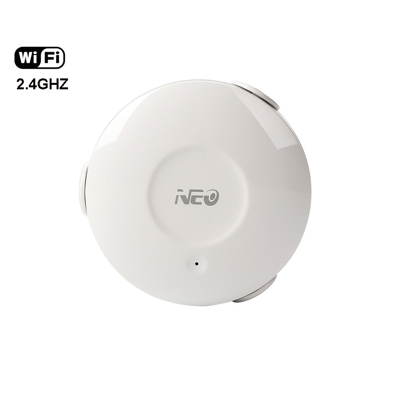 Smart WiFi Water Sensor Water Leakage Detector 2.4GHz Flood Sensor Overflow Alarm APP Notification Alert