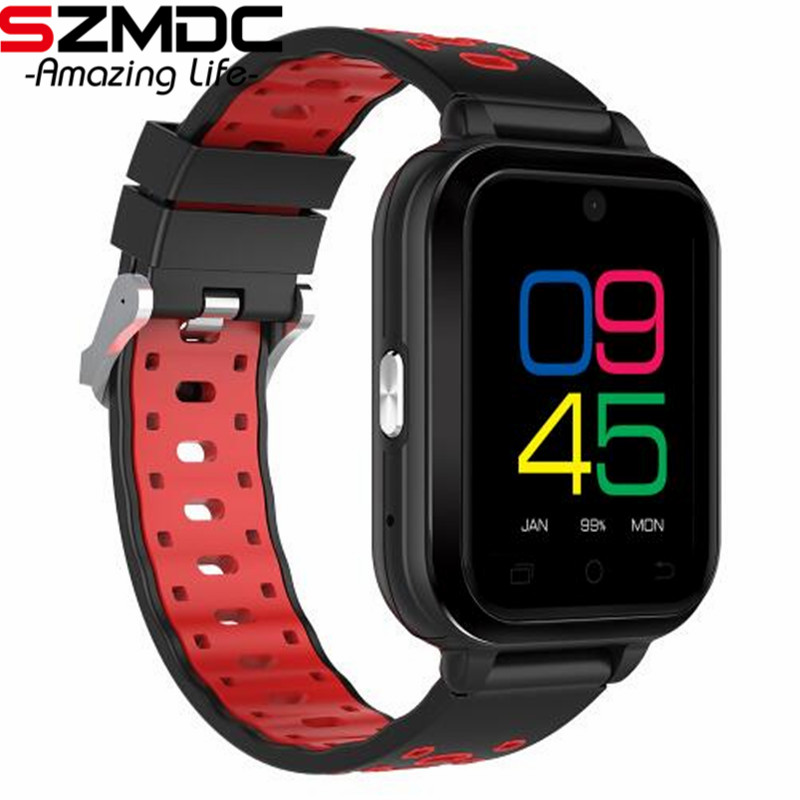 Szmdc Q1 Pro 4G smart watch Android 6.0 MTK6737 Quad Core 1GB/8GB SmartWatch Phone Heart Rate Sim Card Support Change Strap 18mm smart watch smartwatch dm368 1 39 amoled display quad core bluetooth4 heart rate monitor wristwatch ios android phones pk k8