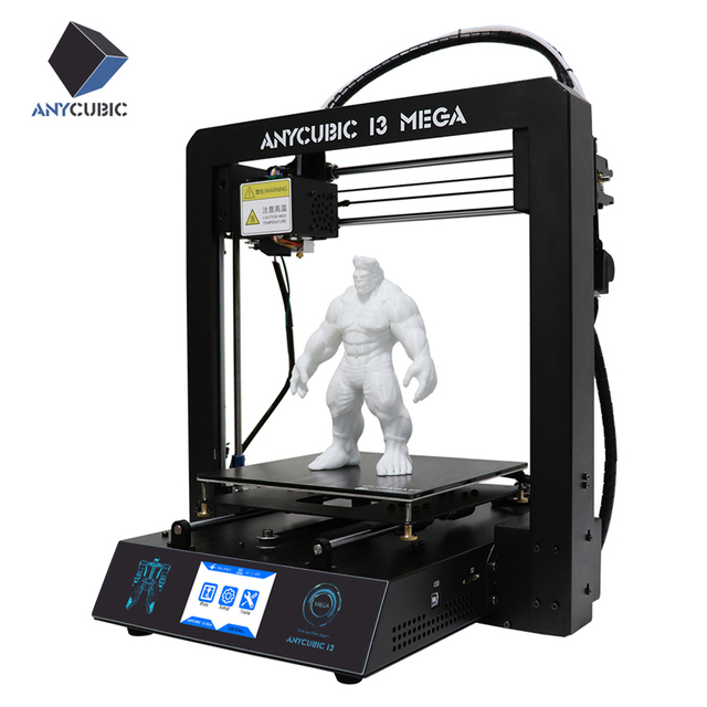 ANYCUBIC 3D Printer I3 Mega Large Plus Size Full Metal TFT Touch Screen 3d Printer High Precision 3D Drucker Impresora Parts