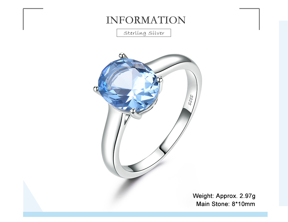 UMCHO ?Nano Sky Blue Topaz 925 sterling silver ring for women RUJ09B-1-pc (2)