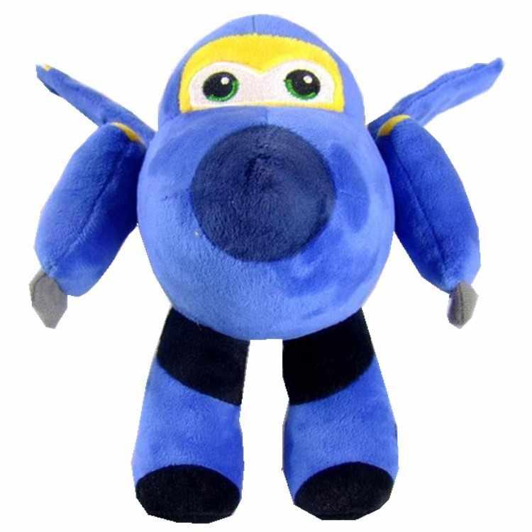 20-30 см Новые 5 видов плюшевой куклы Супер Крылья самолет робот коллекция подарок детские игрушки трансформация для детей