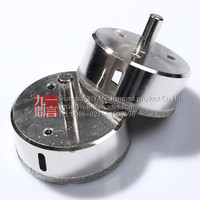 2pcs 65mm Diamond Coated Core Drill Bit Hole Saw Electric Drill Accessories Glass Tile Marble Concrete