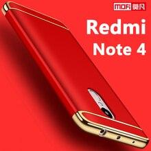 Xiaomi Redmi Note 4 Чехол 5.5 жесткий Coque ультра-тонкий Mofi 3 в 1 люкс защитный чехол бампер для Xiaomi Redmi Note 4