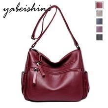 fashion womens solid color double zipper shoulder bag Messenger retro style Bolsas Feminina Saco large capacity tote