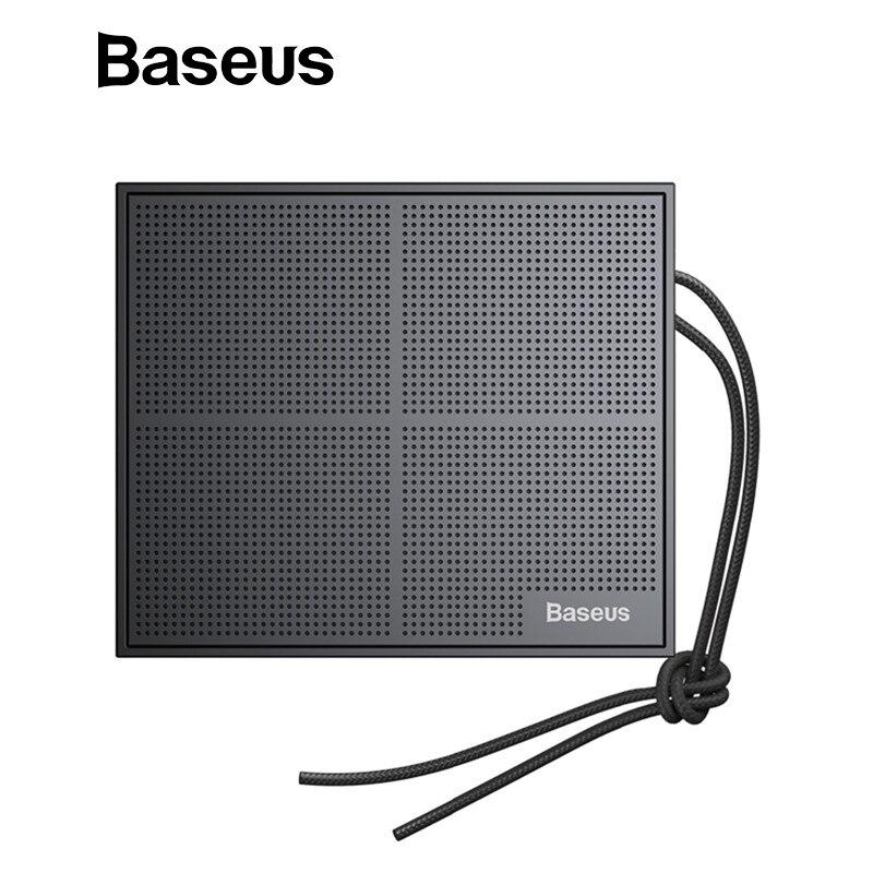 Baseus E05 Bluetooth Speaker Waterproof Portable Square Wireless Loudspeaker Support MP3 Player Altavoz Bluetooth Speaker portable bluetooth 5 0 player