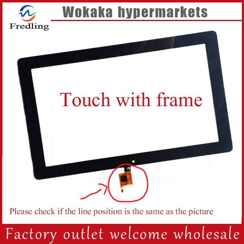 New 10.6 inch Touch Screen For Teclast Tbook11 Tablet Dual OS Windows10 & Android 5.1 Intel Tablet PC Glass Screen teclast tbook 11 10 6 1080p 2 in 1 tablet pc intel quad core 4g 64g dual os