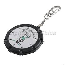 1Pc 18 Hole Golf Stroke Shot Putt Scoring Tag Keeper Score Counter with Key Chain Golf Accessories Golf Training Aids Tool Sport(China)
