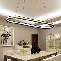 Modern Dining Light Pendant Lamp Nordic Pendant Lights Kitchen Island Dining Room Long Hanging Light Acrylic Lighting Fixture