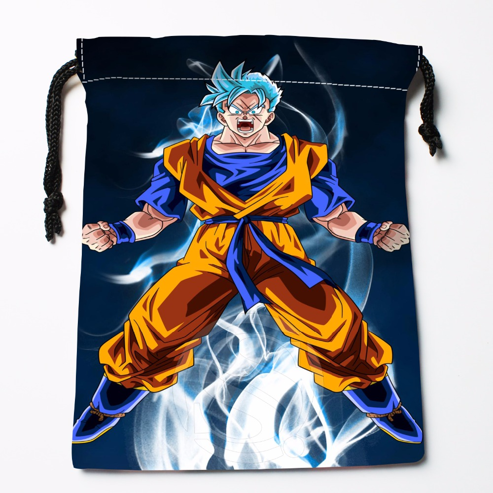 Fl-Q38 New Anime Dragon Ball Z #27 Custom Logo Printed  Receive Bag  Bag Compression Type Drawstring Bags Size 18X22cm 711-#F38