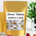Organic Stevia Tablets 60mg/pc x 2000tabs free shipping