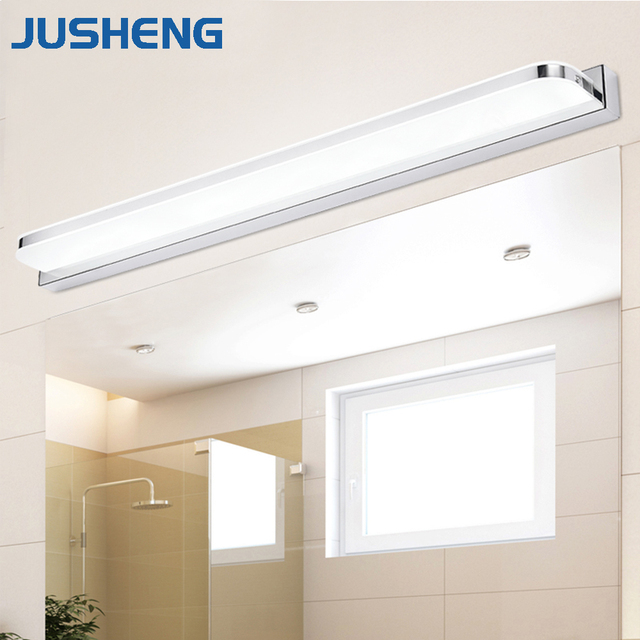 Jusheng modern linear led wall lights fixtures over mirror lights in jusheng modern linear led wall lights fixtures over mirror lights in bathroom indoor sconce lamps lighting aloadofball