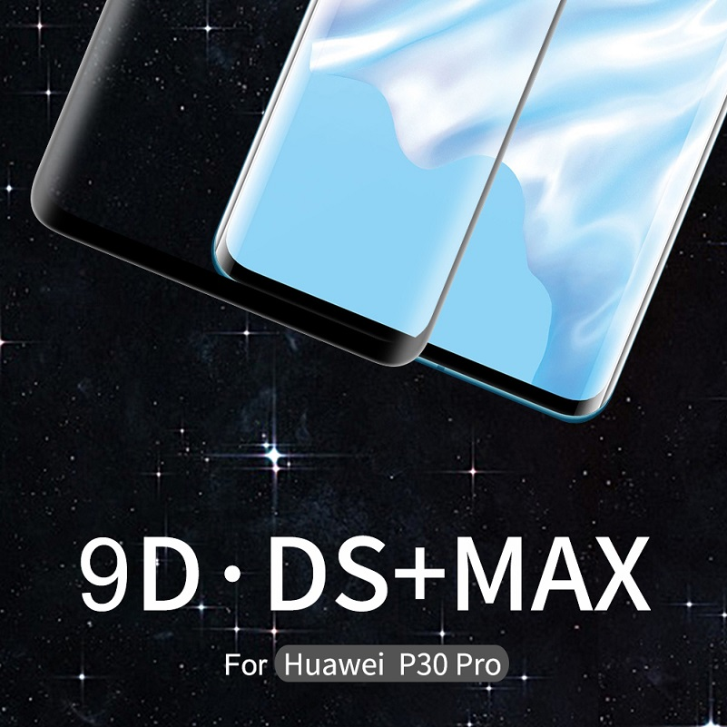 <font><b>Huawei</b></font> <font><b>Mate</b></font> <font><b>20</b></font> <font><b>Pro</b></font> <font><b>Glass</b></font> NILLKIN DS+MAX 9H Safety Full Glue 3D Tempered <font><b>Glass</b></font> for <font><b>Huawei</b></font> P30 <font><b>Pro</b></font> 6.39''/6.2'' image
