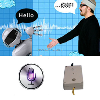 real life room escape game prop voice recognition machine speech a right word to unlock with audio