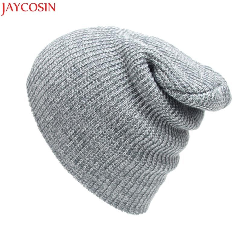 Jaycosin шляпа женщин шляпы шерсти Модные унисекс Зимний Теплый Вязаный Крючком Лыж Шляпа Заплетенный тюрбан головной убор Кепки jan5