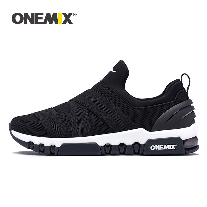 Onemix Running Shoes for Men Casual Sneakers Women Platform Shoes Breathable Sneakers for Outdoor Trekking Walking