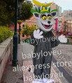 lemur madagascar mascot costume fancy dress custom fancy costume cosplay theme mascotte