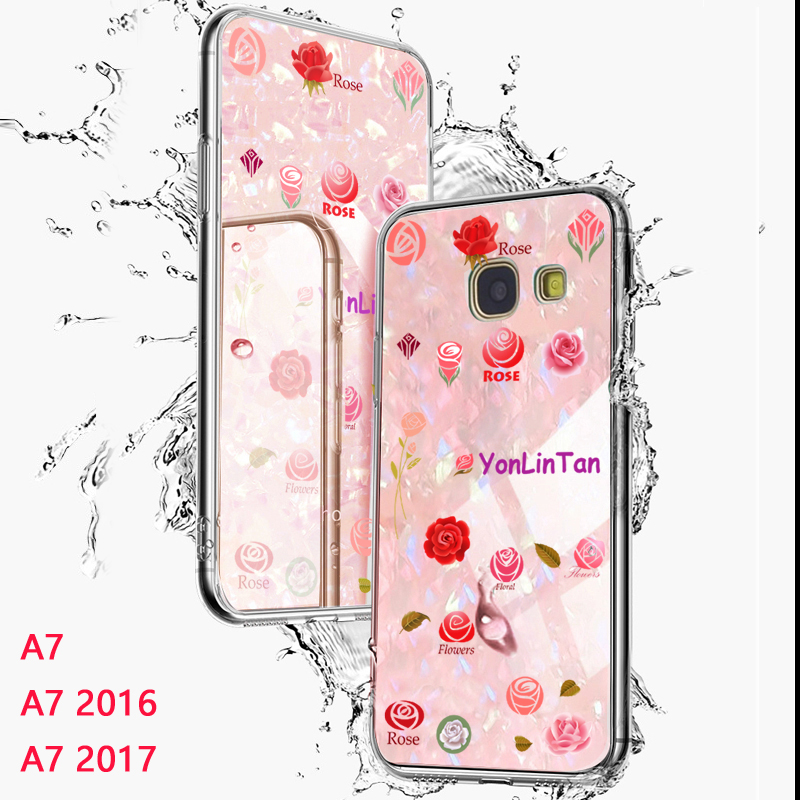 YonLinTan 2 в 1 мягкий силиконовый Твердый PC Coque, крышка, чехол для Samsung Galaxy A7 2016 A710 7 2017 A720 2015 телефон назад на