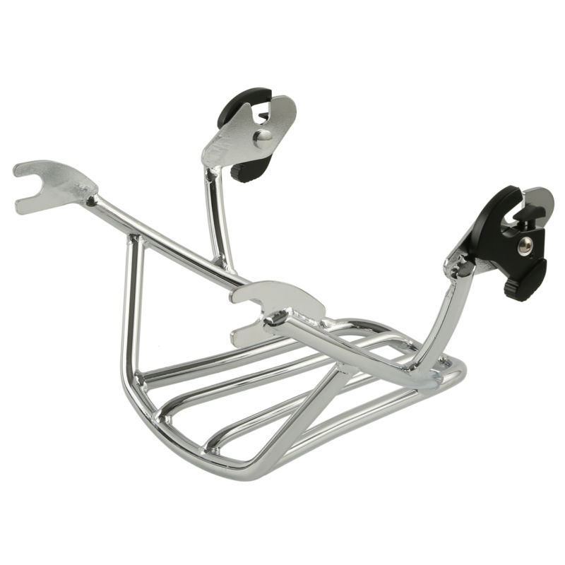 Motorcycle Solo Detachable Luggage Rack For Harley Davidson Sportster XL1200 XL883 Iron Forty Eight Seventy Two 2004 2018 in Carrier Systems from Automobiles Motorcycles