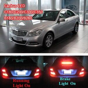 2 шт. светодиодный светильник для автомобиля, стоп-сигнал, задний светильник, задний противотуманный фонарь, ходовой светильник без ошибок д...
