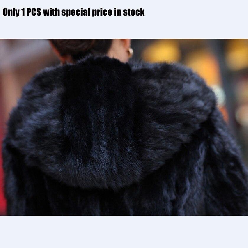 Magasin Avec Naturel Un Seulement Hiver Vison Vraie Poches Femmes Dans Nouveau Chewies Prix Stock7 Survêtement Manteau Spécial Capuche Fourrure Veste 11 O40dq