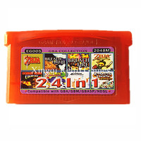 Nintendo GBA Game EG005 24 In 1 Video Game Cartridge Console Card Compilations Collection English Language