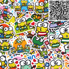 40 pcs Mini frog Stickers for Notebook Planner Cute Cartoon Decorative Style toy Sticker Scrapbooking For Laptop Children(China)