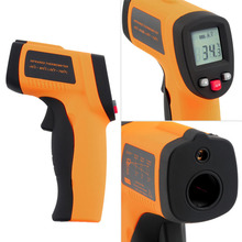 Big sale 1pcs GM300 Digital Non-Contact Laser pointer LCD backlight IR Infrared Thermometer -50 to 380 degree  New Free Shipping