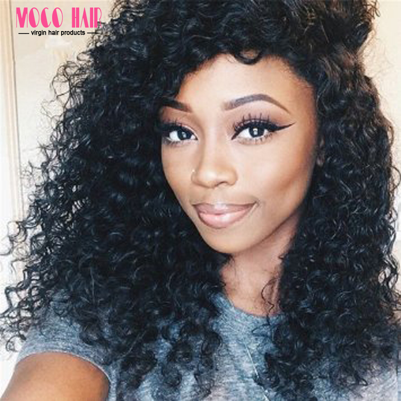 Crochet Human Hair Extensions : ... Weave Human Hair 7A Indian Virgin Hair Extensions Curly Crochet Hair