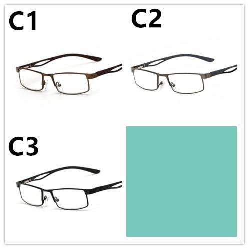 HINDFIELD 2016 läsglasögon för legering kvadrat män receptlinser - Kläder tillbehör - Foto 6