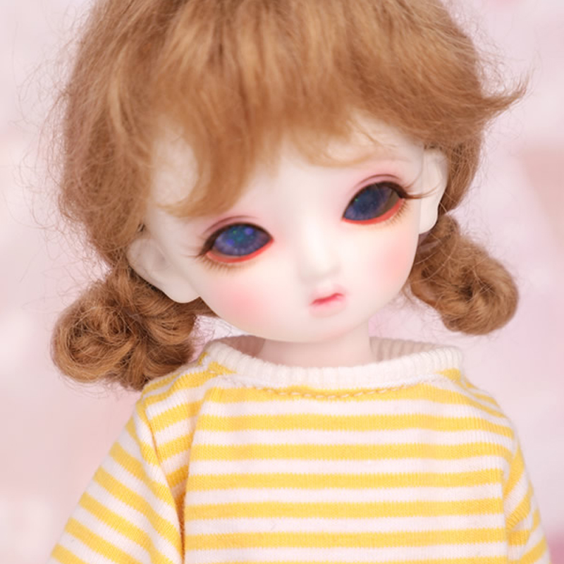 Full Set 1/6 BJD Doll BJD/SD Fashion Cute Lucie Resin Doll With Make Up For Baby Girl Brithday Gift 1 8 bjd doll bjd sd fashion cute miu with eyes for baby girl gift full set doll clothes shoes wig like picture