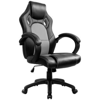 Gaming Chair High Back Office Executive Chair Reclining Computer Boss Chair Swivel DE computer chair home boss chair leather business reclining massage executive chair solid wood swivel chair lift office seat