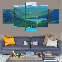 Paintings Painting By Numbers High Quality 5 Piece Wall Art Big Size Picture Home Decor Modern