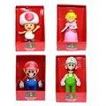 23cm Super Mario series 3 Bros Mario luigi figure 2016 New super mario series 3 bros Princes action figurines toys party supply