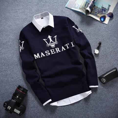 YP1002M-2Free доставка 2017 осень зима Горячие продажа мода причинно ницца теплые рождественские свитера мужчин Дешевые оптовая продажа брендовой одежды