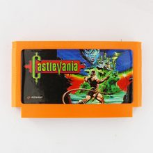 Castlevania 60 Pin Game Card For 8 Bit Subor Game Player(China)
