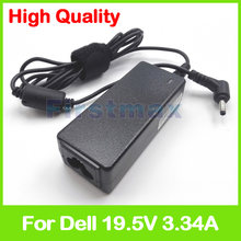 19.5 V 3.34A laptop AC carregador adaptador de alimentação para Dell Inspiron 20 3043 Vostro 5560 P41G 5560R-1326 5560D-1328 1526 1528 2328 2528