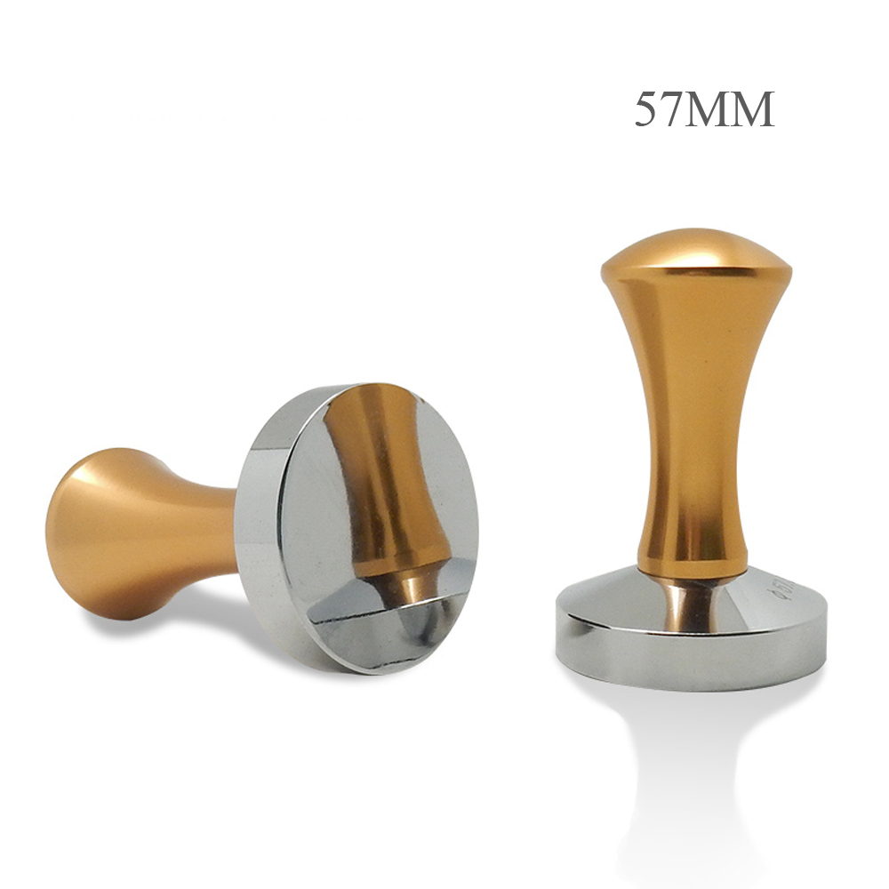 Areyoucan 57 5MM Stainless Steel Coffee Tamper Barista Espresso maker Handmade pressed hammer coffee grinder coffee
