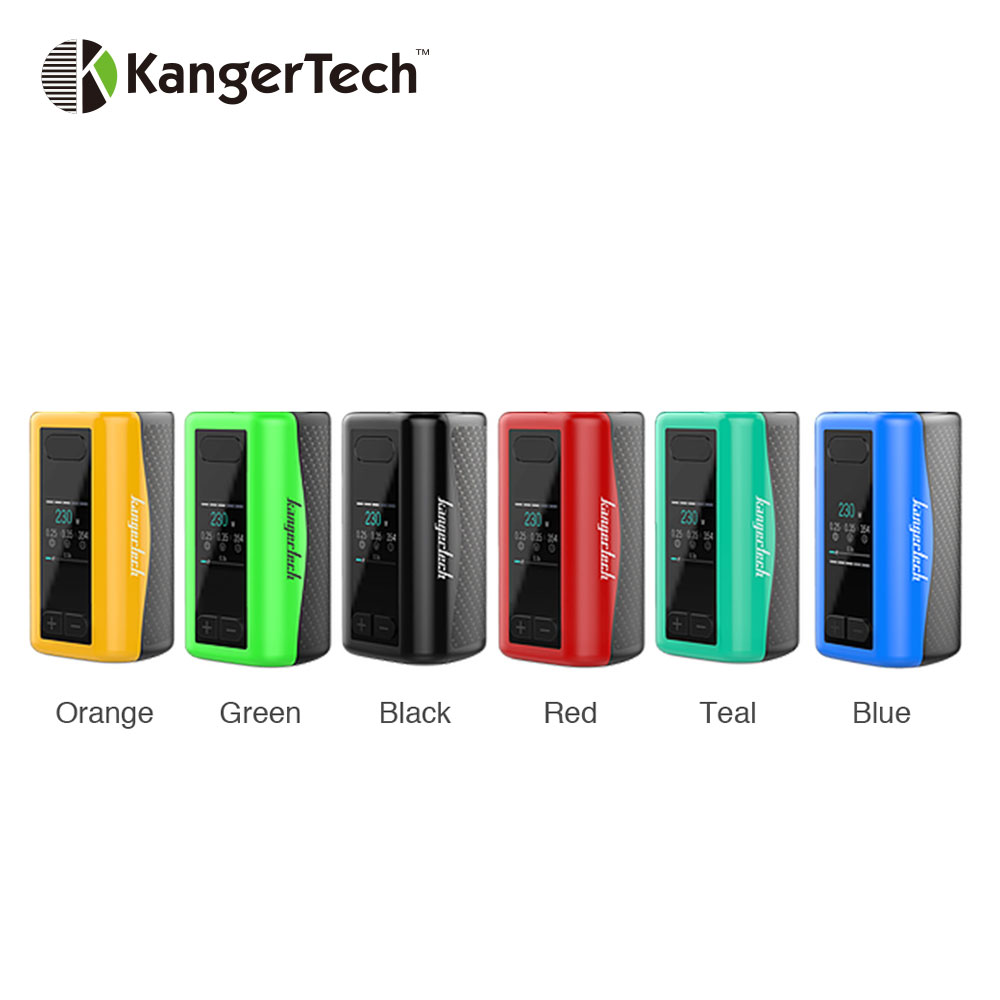 Original 230W Kangertech IKEN TC Box MOD Built in 5100mAh Battery Max 230W Output for IKEN