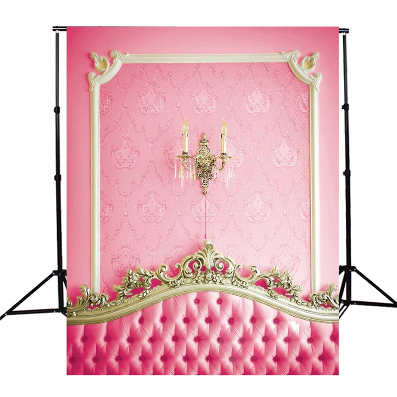 3x5ft Vinyl Photography Background Pink Bed Headboard Photographic Backdrops For Studio Photo Props 90 x 150cm Cloth shengyongbao 300cm 200cm vinyl custom photography backdrops brick wall theme photo studio props photography background brw 12