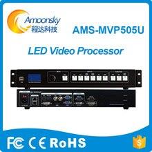 Amoonsky melhor preço display led uso hd cor levou processador de vídeo quad mvp505u para tela de led com usb