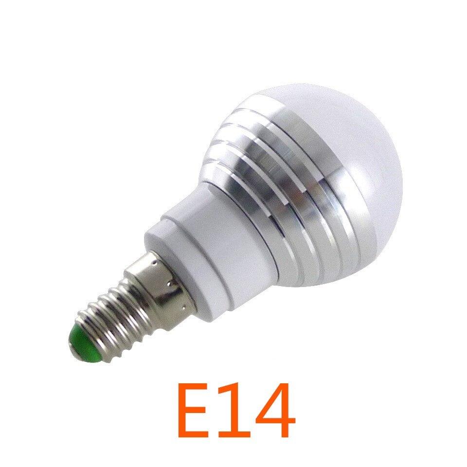 Lamp led gallery mbel furniture ideen e14 e27 rgb led bulb 3w 16 color changeable lamp led spotlightir e14 e27 rgb led parisarafo Choice Image