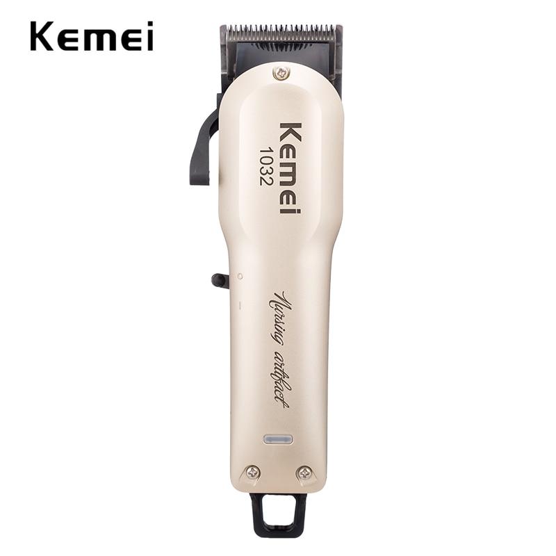 100-240V kemei professional hair clipper rechargeable hair trimmer hair shaving machine hair cutting beard electric razor