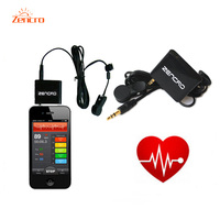 ZENCRO Good Cardio Fitness Equipment Heart Rate Monitoring Infrared Earlobe Tool Use For Gym Exercise Running