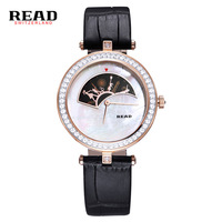 READ Women Fashion Dress Watch Young Ladies Leather Quartz Watches Casual Vintage Sports Wristwatches New 2017