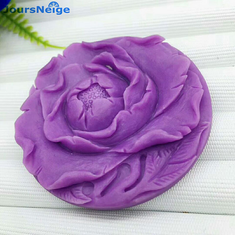 Wholesale Purple Natural Mica Pendants Hand Caved Flower Pendant Necklace Sweater Chain Lucky for Women Gift Fashion Jewelry certificate women necklace sweater chain natural jadeite jades a flower petal pendant gift for women s fashion jades jewelry